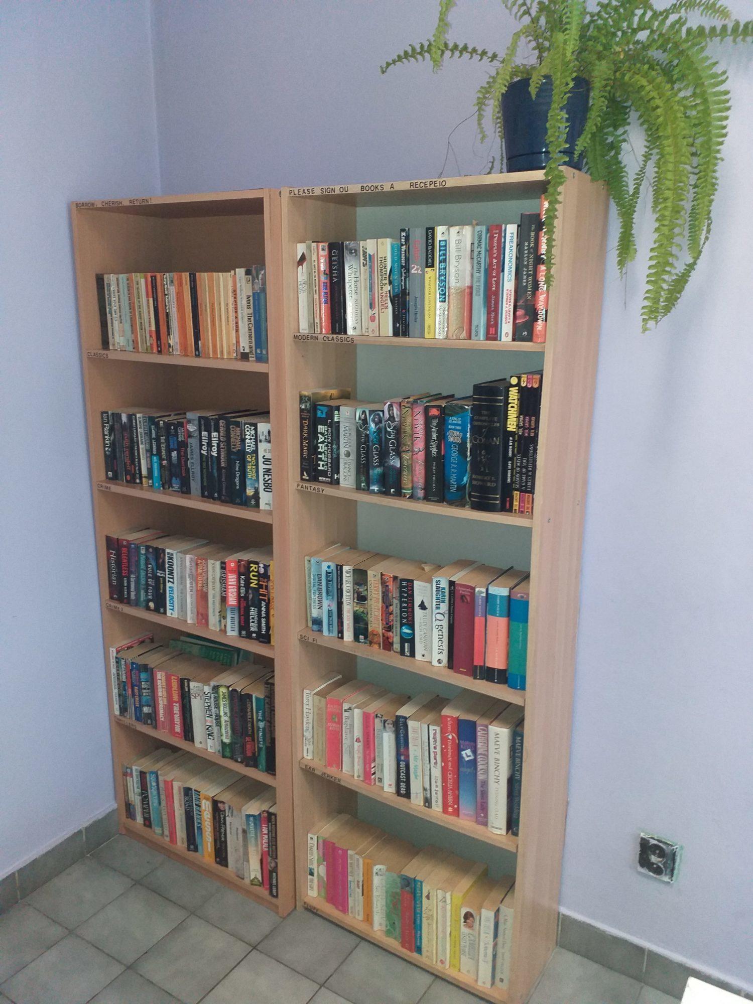 Biblioteka angielskich książek Mikołów